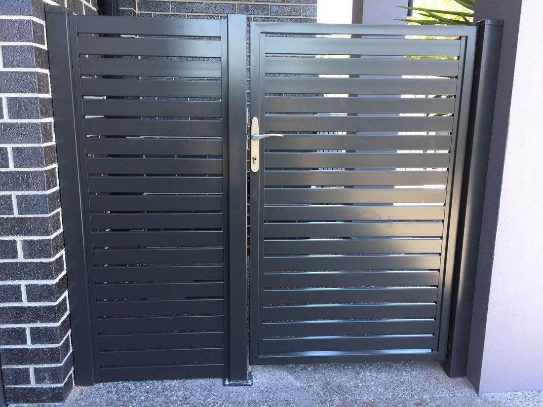 Diy Aluminium Slat Fence Panels