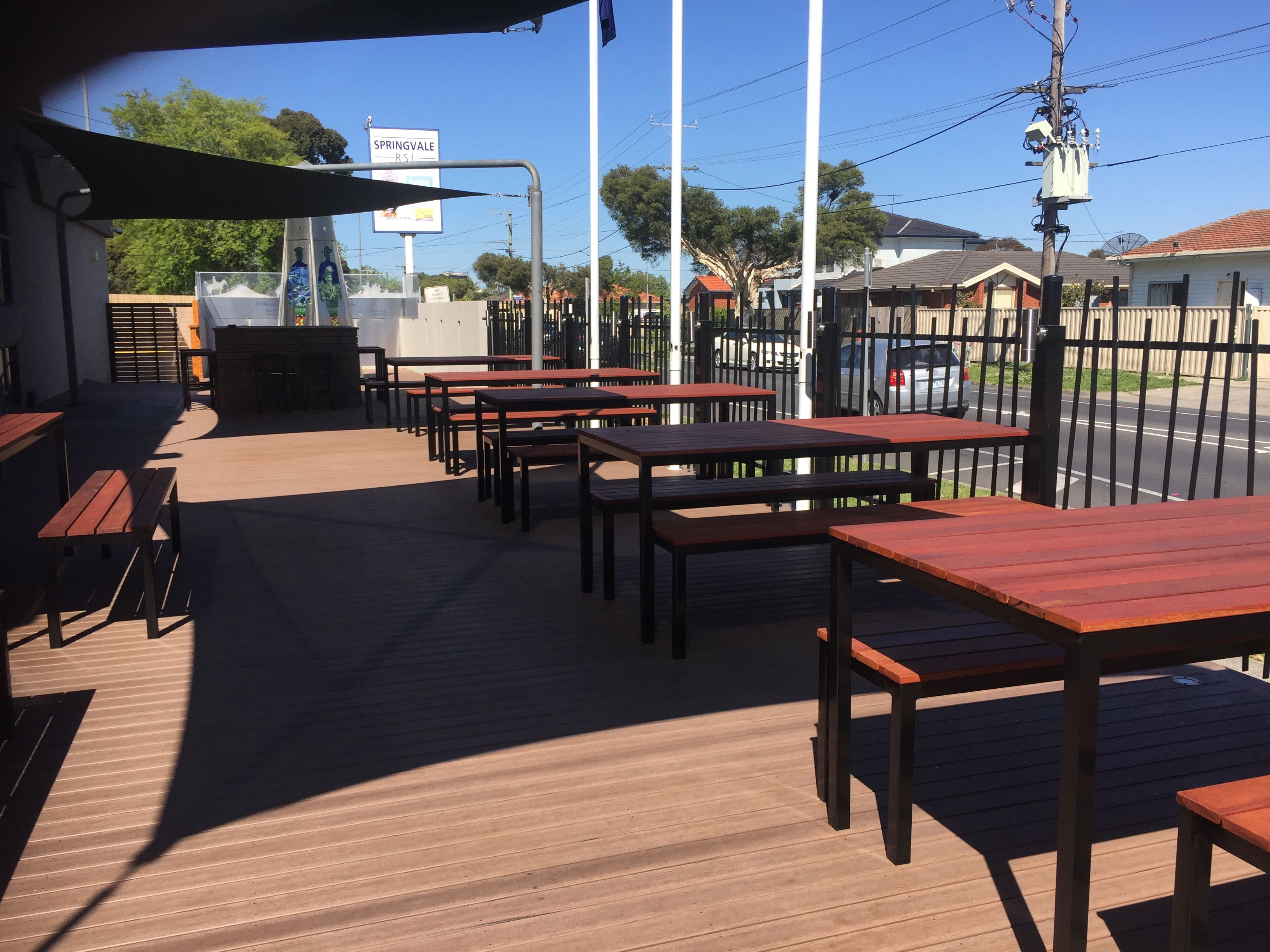 Commercial Outdoor Furniture Melbourne For Cafes Bars