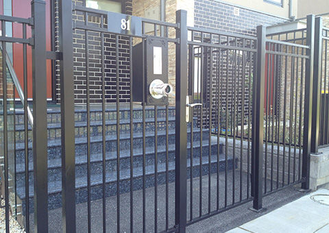 Steel Security Gates Amp Fences In Melbourne Jnd Timber