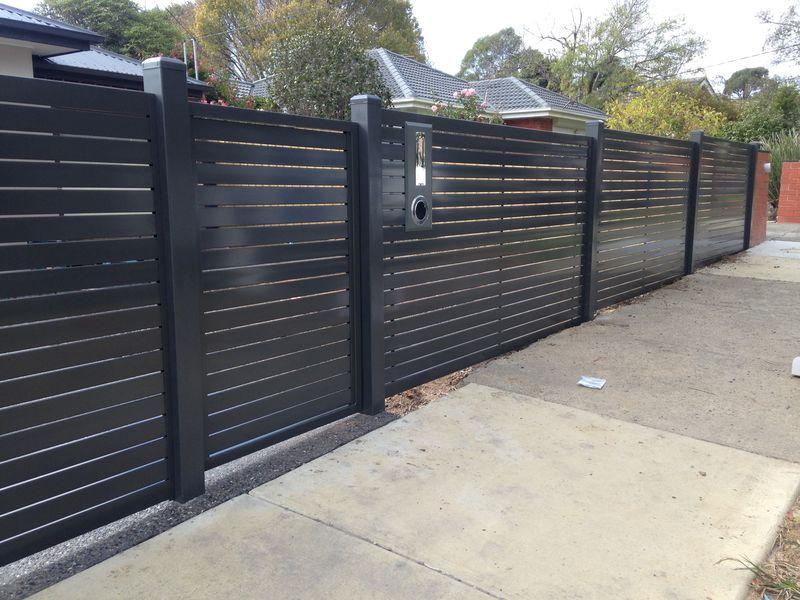 Aluminium Slat Fencing Melbourne