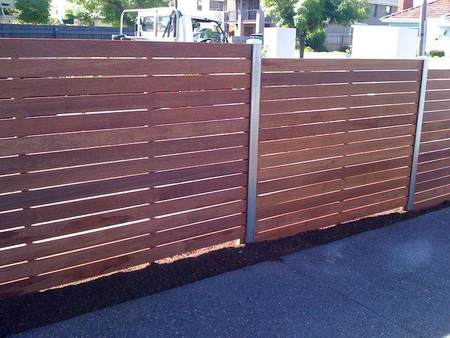 Merbau modwood feature fencing merbau feature fence workwithnaturefo