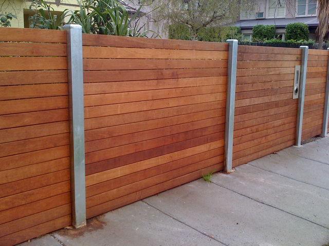 Merbau Modwood Feature Fencing